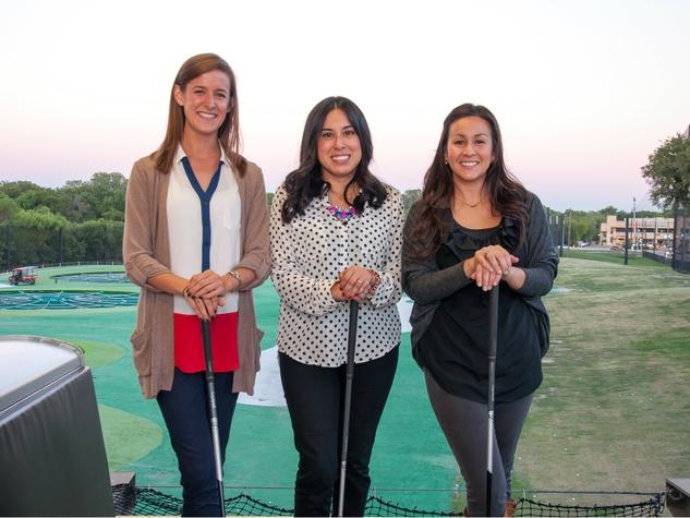 ASAS TG Event -- Lauren Parker, Lauren Pesqueda, Monique Corralez, after school all stars, top golf