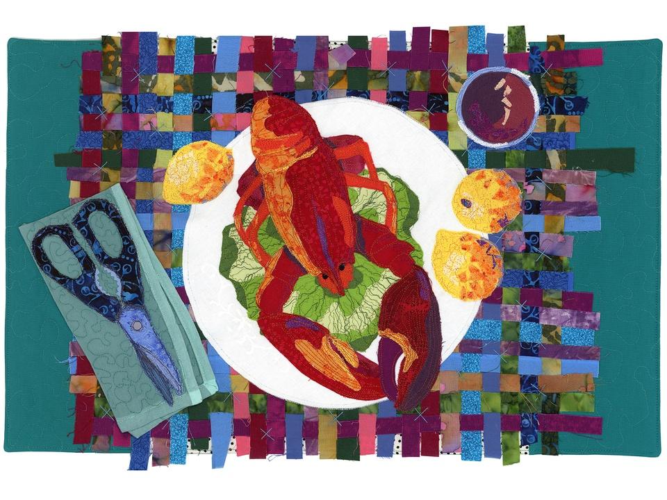 7 Lobster Night International Quilt Festival special exhibit quilts October 2014