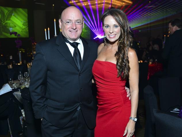 6 Scott Kelly and Amiko Kauderer at the Houston Children's Charity Gala November 2013