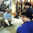 News_Sumo wrestlers_Pinto Ranch_cowboy hats
