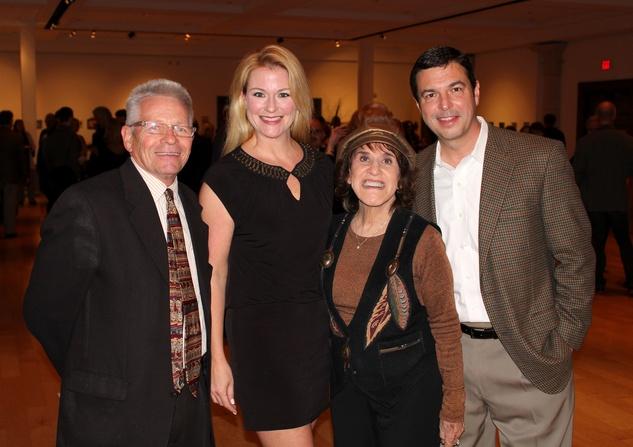 Robert Hopkins, Tracy Kibler, Ruth Buzzi, Kirk Kibler, mba 8x8 party