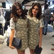 Sarah Jawda and Saba Jawda at the Topshop Topman preview party
