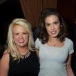8 Beth Bryant, left, and Sabra Martin at the Holly Rose Ribbon Shades of Roses kick off party July 2014