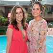 7 Jourdan Moore, left, and Diana Yera at the Pink Party at Hotel ZaZa July 2014