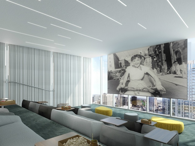 The Independent_downtown Austin condo_interior rendering_movie theater_2015