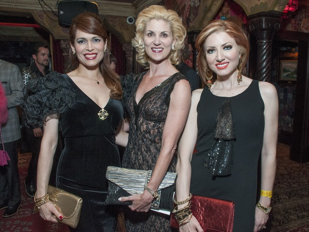 8 Houston Little Black Dress Designer fashion show May 2013 Karina Barbieri, Paula Mott, Yasmine Haddad