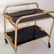 Davon bar cart ideas December 2013 European black and brass bar cart European black and brass bar cart at Mrs. PK & Oz