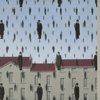 Menil Collection: René Magritte, Golconda (Golconde)