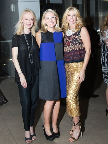 Shelle Sills, Cindy Rachofsky, Julie Hawes, Testino Opening DC