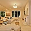Living room at 2525 N. Pearl #1102B