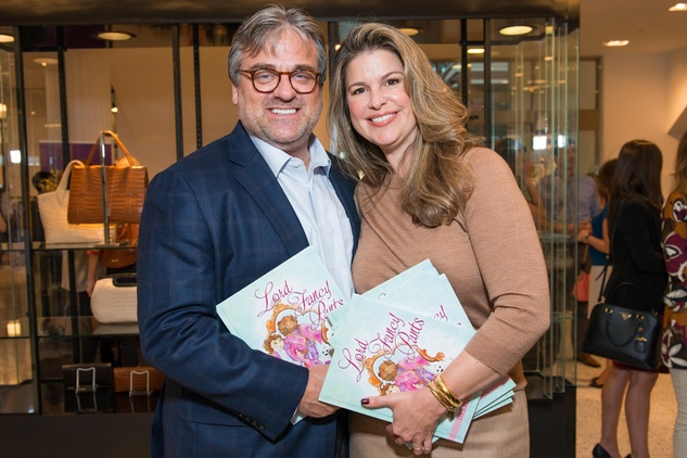 9 Greg and Elena Davis at Lord Fancy Pants book launch October 2014