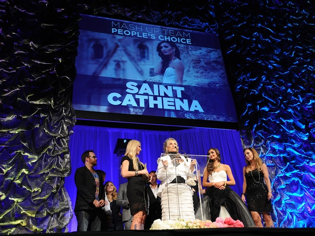 Austin Fashion Awards 2014 Mash-up Team People's Choice Winners Saint Cathena
