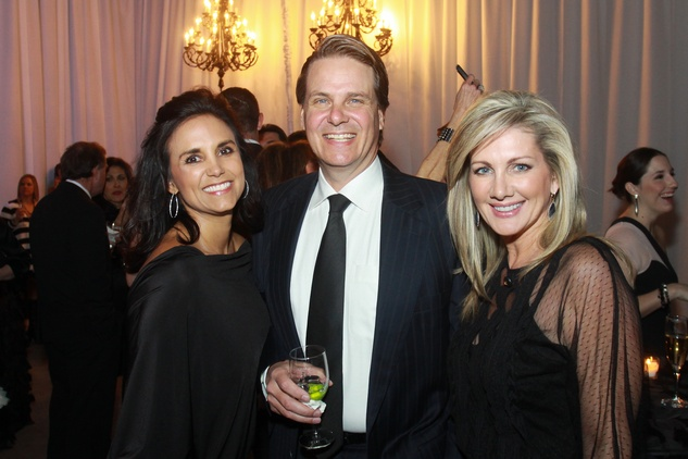 268 Veronica Roa, from left, with Noble and Anne Carl at Lucinda Loya's birthday celebration February 2014