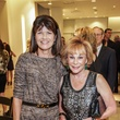 Susan Coulter, left, and Nancy Dinerstein at the Women of Distinction announcement party October 2014
