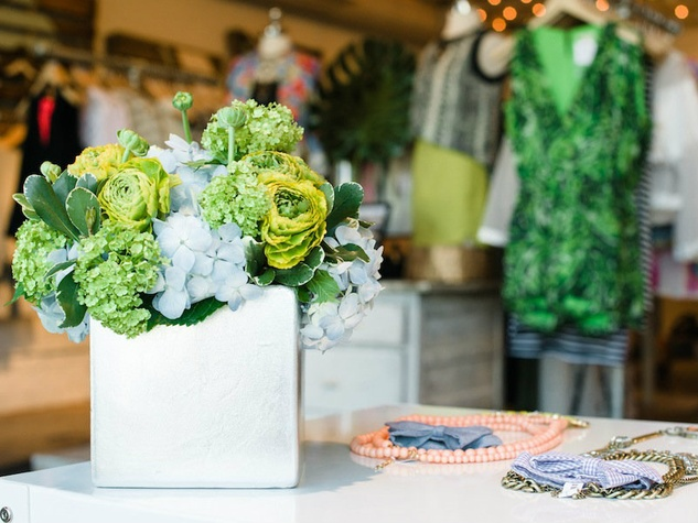 posh floral at baby bow tie event at milk & honey