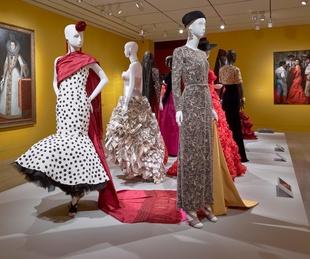Oscar de la Renta MFAH exhibition Spanish influenced dresses