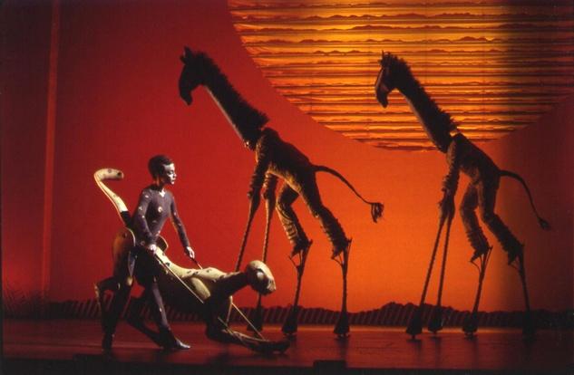 Lion king cheetah puppet - photo#25