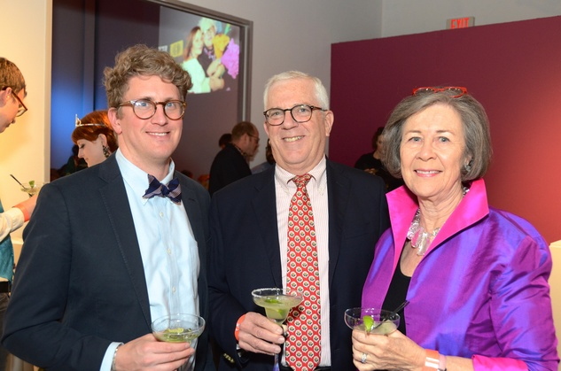 Center for Contemporary Craft, Margarita Madness, Jan. 2016, Perry Price, Richard Rabinow, Kathryn Rabinow