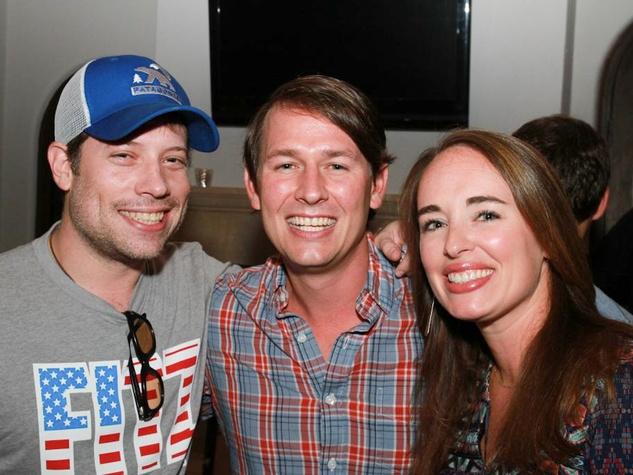 Heroes Rise Fundraiser 2014 in Austin Don Crow, Sammy & Lindsay Dillard