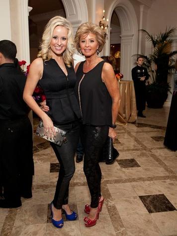 256 Jennifer Brown, left, and Dianne Hutmacher at Texas Children's event November 2013