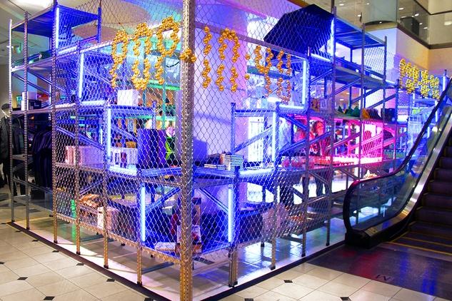 Nordstrom 4U Brite Lights_Gift City pop-up shop