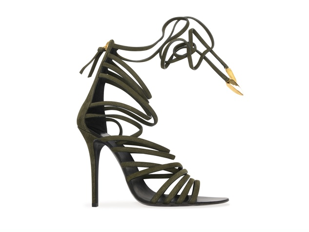 Giuseppe Zanotti designer shoes spring summer 2014 collection