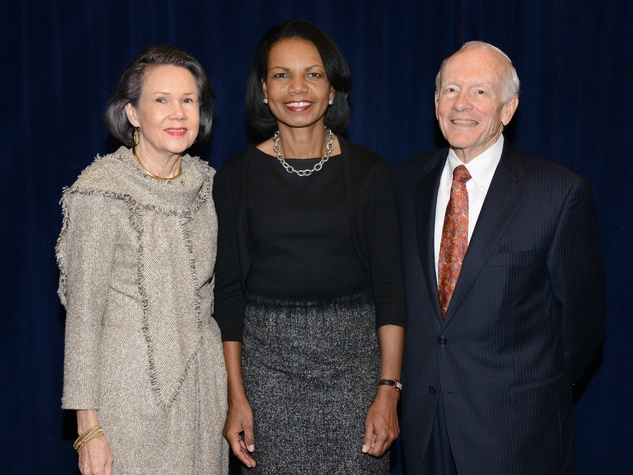 Day Watson, Dr. Condoleezza Rice, George S. Watson, Boys and Girls Club Great Futures Luncheon