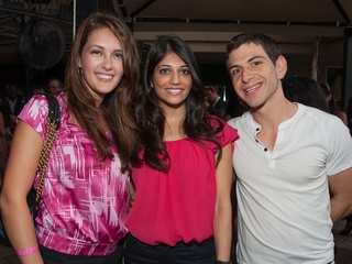 021_Party in Pink, Hotel ZaZa, July 2012, Margarita Jacobs, Vai Godhania, Mike Pena
