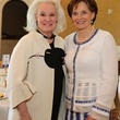 Donna Bruni, left, and Bobbie Nau at the St. Luke's Friends of Nursing luncheon April 2014