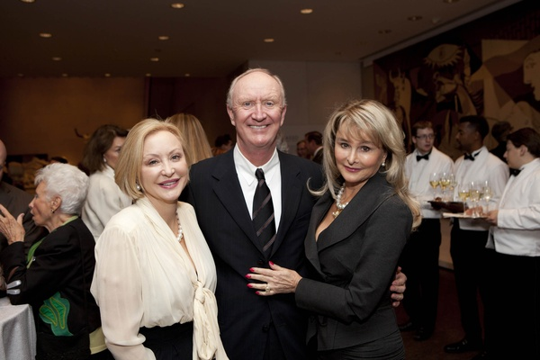 Picasso Black and White opening dinner, February 2013, Tina Pyne, Frank Hevrdejs, Michelle Hevrdejs
