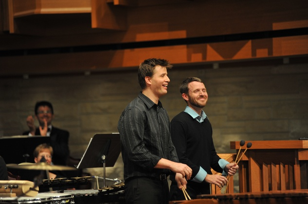 River Oaks Chamber Orchestra Big Bang percussion concerto two