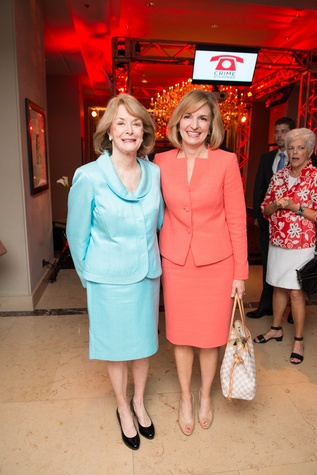 Houston, Crime Stoppers Awards luncheon, May 2015, Dr. Patricia Wallace, Devon Anderson