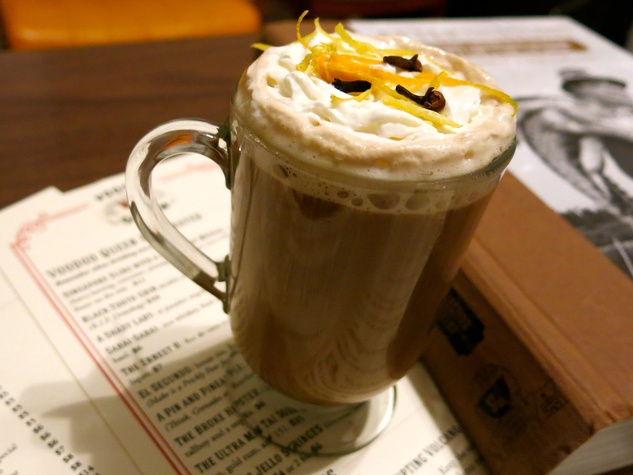 hot toddies hot toddy Grave Robber's 151 Coffee Grog at Voodoo Queen