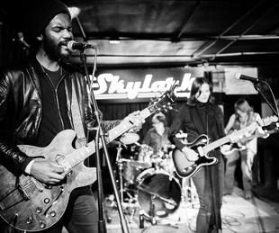 Gary Clark Jr plays at Skylark Lounge in Austin