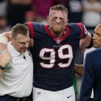 Texans JJ Watt injured in Kansas City game