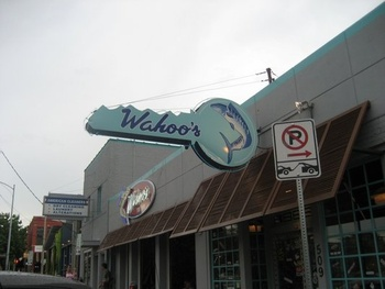 Austin Photo: Places_Food_Wahoo's Downtown_Exterior