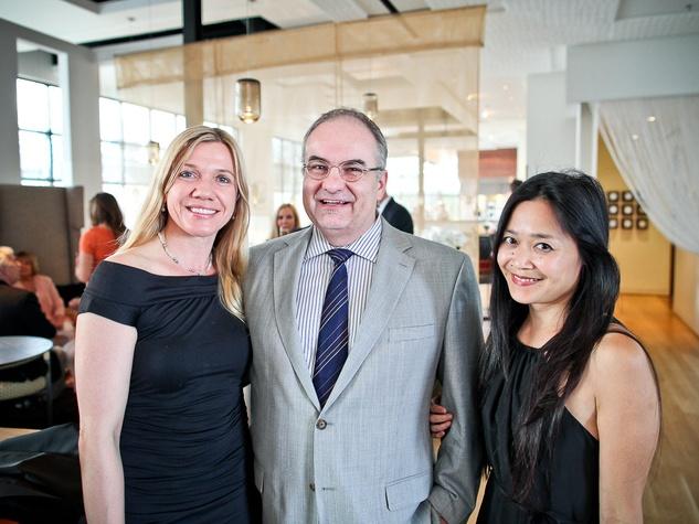 Triniti Mercury spring dinner, April 2013, Sonja Bruzauskas, Gil Cote, Maria Lin