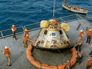 """Space Center Houston presents """"Destination Moon: The Apollo 11 Mission"""" opening day"""