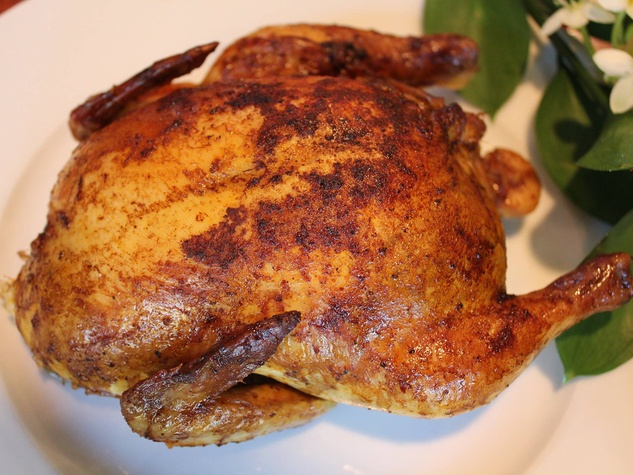 Hebert's Specialty Meats stuffed cornish game hen chicken