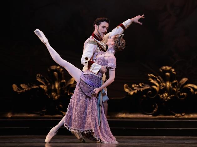 Houston Ballet Mayerling Connor Walsh as Prince Rudolf and Sara Webb as Countess Marie Larish