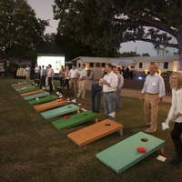 52 The toss course at the Toss for Texas Children's Hospital October 2014