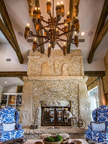 1905 Wood Acre Ln fireplace