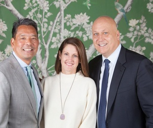 SpringSpirit Baseball breakfast, Feb. 2016, Frank Tsuru, Stephanie Tsuru, Cal Ripken Jr.