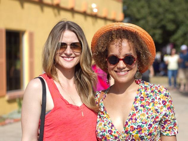 Pachanga Fest 2014 at Fiesta Gardens Jenny Dugas Kate Priestley