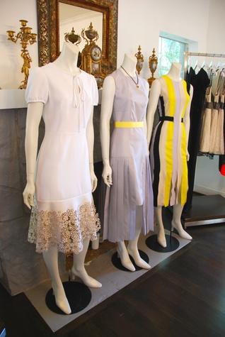 Baanou boutique July 2014 mannequins