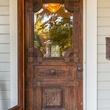 1011 E. Eighth St. front door