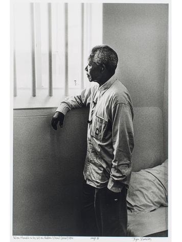 Tarra Gaines The Menil Gandhi exhibition October 2014 Mandela