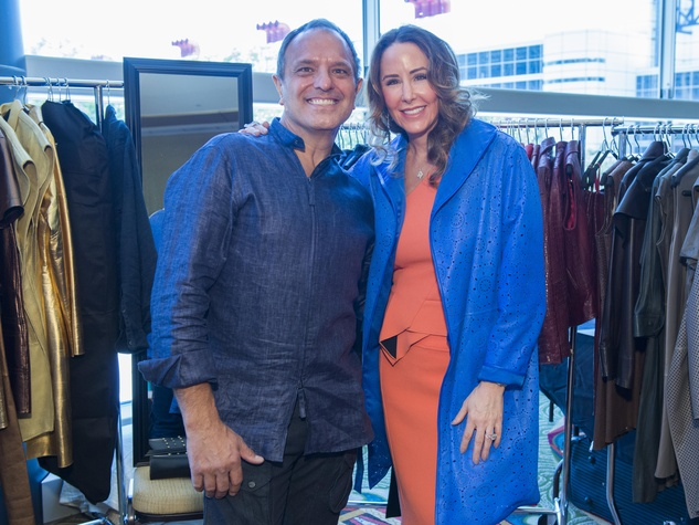 9 Jose Sanchez and Liz Glanville at the Latin Womens Initiative May 2014