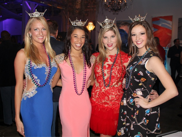 Miss Texas participants at Toast to Life 2015