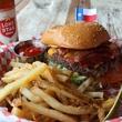 Armadillo palace burger and beer
